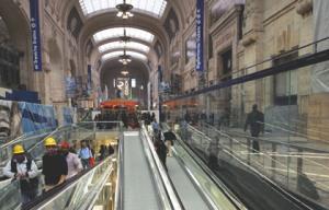 La stazione centrale un monumento moderno www - Da porta garibaldi a milano centrale ...
