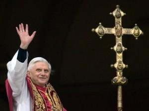 Germany's Joseph Ratzinger, the new Pope