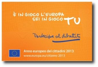 anno europeo 2013 logo