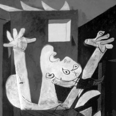 Guernica_arms raised detail_400