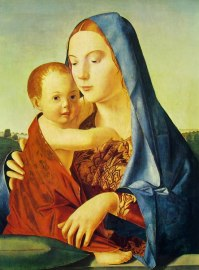 07 antonello da messina - madonna benson